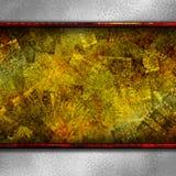 Fond de texture d'or de Grundge Photos libres de droits