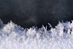 Fond de texture d'hiver de neige de glace Image libre de droits