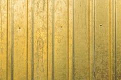 Fond de texture de barrière ondulée Photographie stock