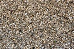 Fond de texture de cailloux et de pierres de mer Image libre de droits