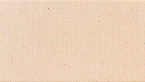 Fond de texture de carton de papier ondulé Photographie stock libre de droits