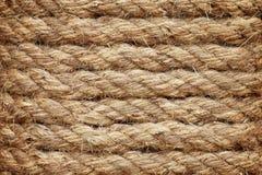 Fond de texture de corde Photographie stock libre de droits