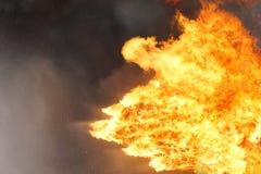 Fond de texture de flamme du feu Images stock