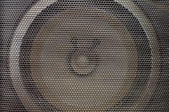 Fond de texture de haut-parleur Photos stock