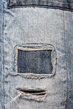 Fond de texture de jeans de denim Photo stock
