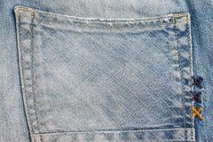 Fond de texture de jeans de denim Photographie stock