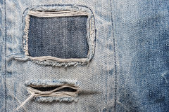 Fond de texture de jeans de denim Photos stock