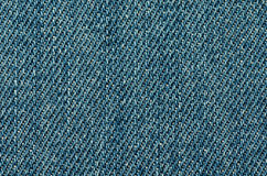 Fond de texture de jeans Fin vers le haut Images libres de droits