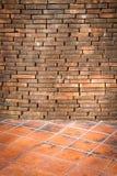 Fond de texture de mur de briques et de tuile photo stock
