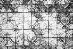 Fond de texture de mur de briques/texture noirs et blancs de mur Images stock
