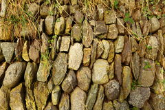 Fond de texture de mur en pierre Images stock