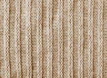 Fond de texture de nitwear de Brown Photo libre de droits