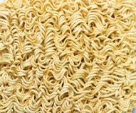 Fond de texture de nouilles instantanées Photos libres de droits