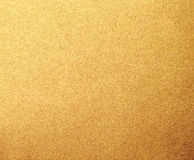 Fond de texture de papier en métal d'or Photos libres de droits