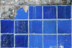 Fond de texture de pierre bleue Image stock