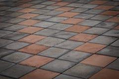 fond de texture de plancher de brique Image stock