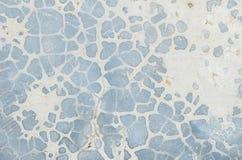 Fond de texture de plancher de pierre bleue de plan rapproché Image libre de droits