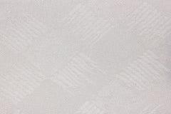 Fond de texture de rideau en abat-jour de Grey Fabric Image libre de droits