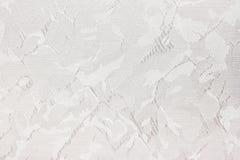 Fond de texture de rideau en abat-jour de Grey Fabric Images libres de droits