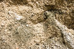 Fond de texture de sable Photos stock