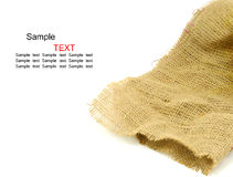 Fond de texture de sac Photo stock