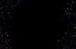 Fond de texture de scintillement Explosion des triangles de confettis Photos libres de droits