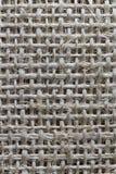 Fond de texture de tissu de toile de jute Image stock