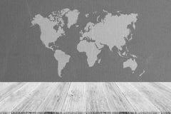 Fond de texture de tissu, processus dans la couleur blanche avec le ter en bois Photo libre de droits