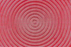 Fond de texture en métal Grille carrée avec le cercle Rétro cru Photo stock