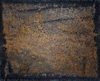 Fond de texture en métal de rouille Photographie stock libre de droits