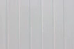 Fond de texture en métal blanc Photos libres de droits