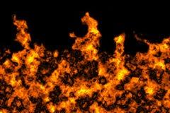 Fond de texture de flamme du feu de flamme Image stock