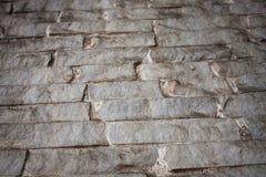Fond de texture de mur de briques Modèle orange de grunge de briques Image libre de droits
