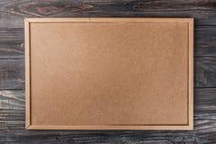 Fond de texture de panneau de liège, plan rapproché Photo stock