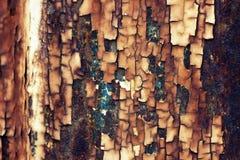 Fond de texture de peinture d'écaillement Images libres de droits