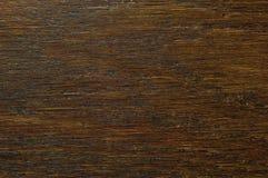 Fond de texture de placage de grain de chêne, modèle texturisé rayé horizontal naturel de brun de noir foncé, grand bois rocaille Images stock
