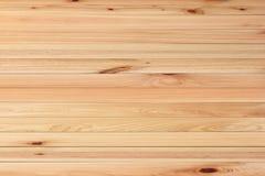 Fond de texture de planche en bois de pin de Brown photographie stock