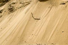 Fond de texture de sable Texture de modèle de sable Photos libres de droits