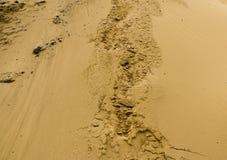 Fond de texture de sable Texture de modèle de sable Photo stock
