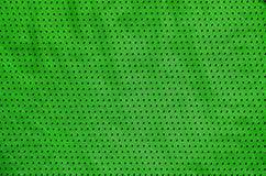Fond de texture de tissu d'habillement de sport Vue supérieure de la surface de textile de tissu Chemise colorée de basket-ball a photo libre de droits