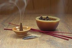 Fond de thème d'Aromatherapy Photographie stock libre de droits