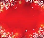 Fond 7 de thème de flocon de neige Images libres de droits
