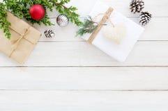 Fond de thèmes de Noël Images stock