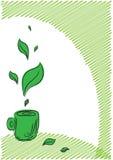 Fond de thé Images stock