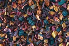 Fond de thé sec de plomb Photo libre de droits