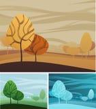 Fond de thème de nature Images stock