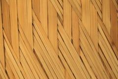 Fond de tissage de texture de bambou Images stock