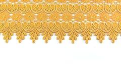 Fond de tissu d'or de beauté Photographie stock