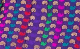 Fond de tissu de fleur Photo libre de droits