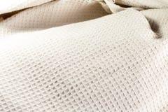 Fond de tissu de gaufre Photo libre de droits